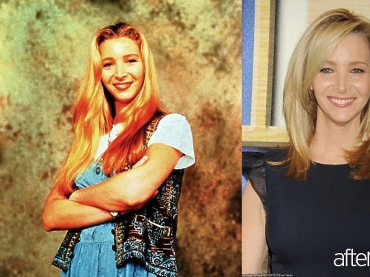 Lisa Kudrow Phoebe Buffay w długich włosach