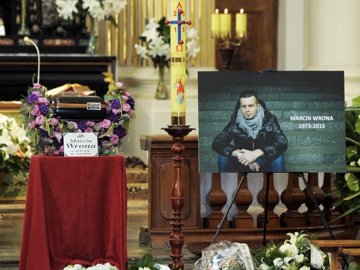 Pogrzeb Marcina Wrony