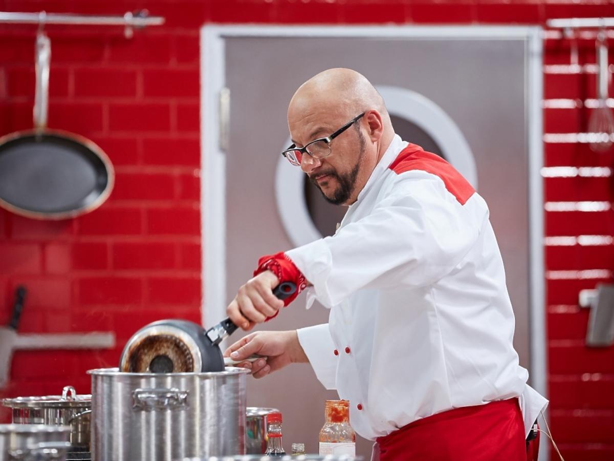 Piotr Gąsowski gotuje