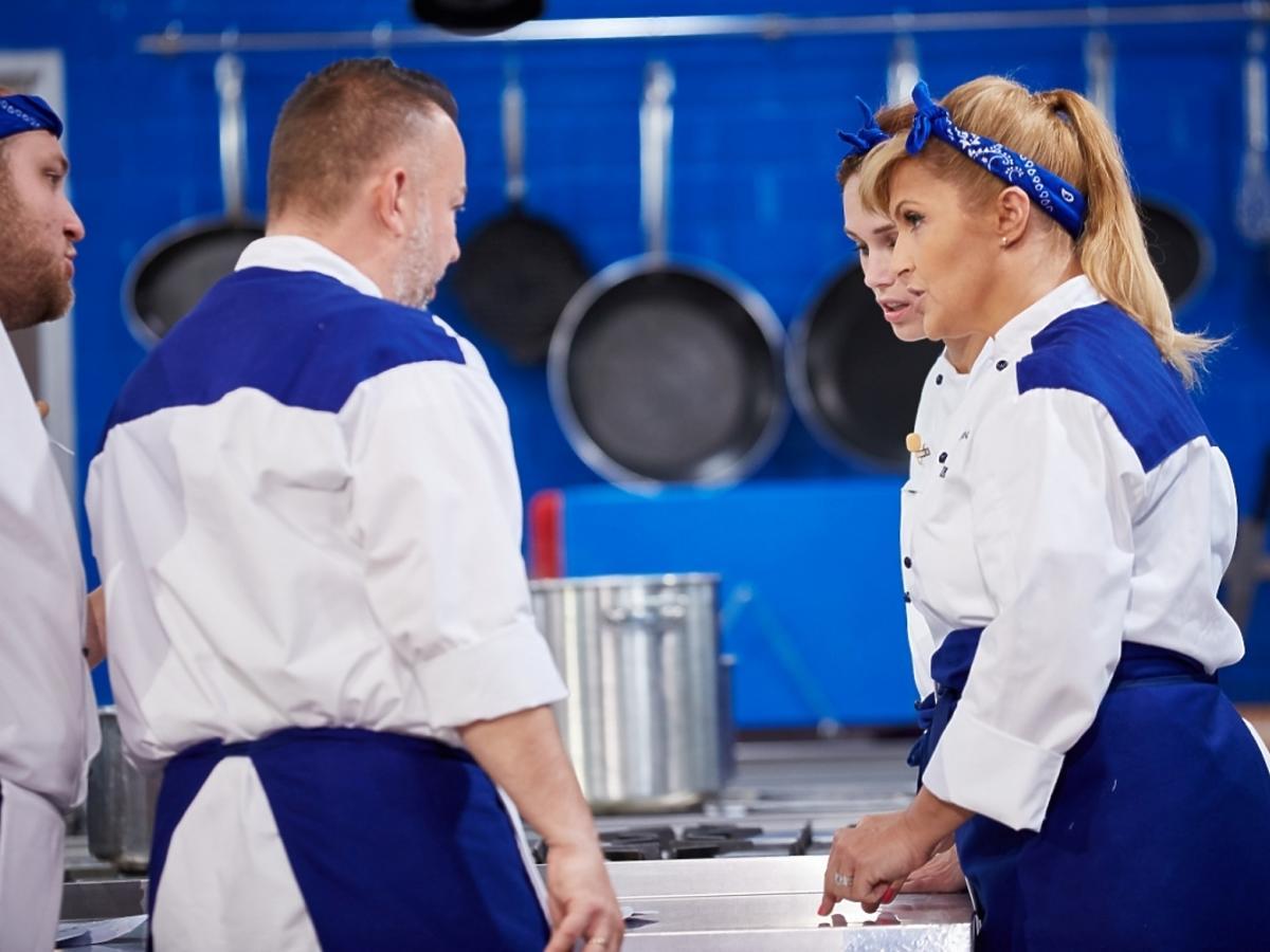 Katarzyna Skrzynecka rozmawia z kucharzem