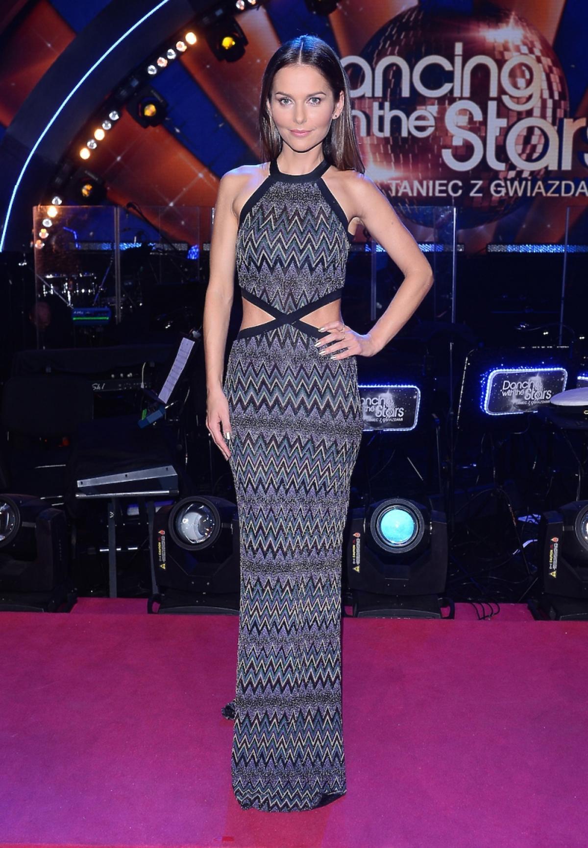 Paulina Sykut w sukience w printy