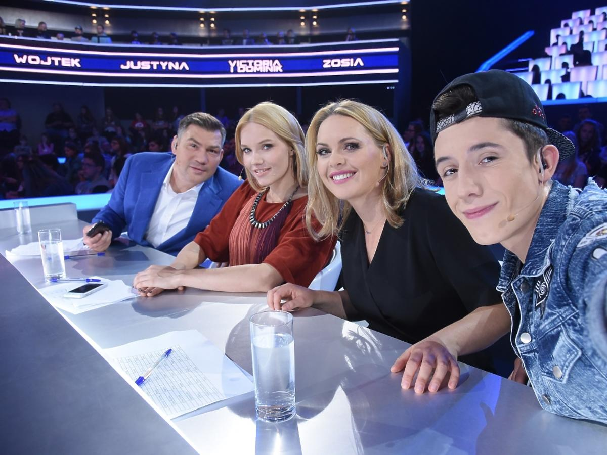 Jury SuperDzieciak, Dariusz Michalalczewski, Roma Gąsiorowska, Magdalena Stużyńska, Dawid Kwiatkowski