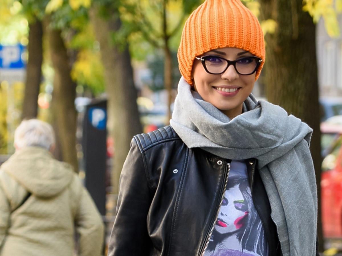 Dorota Gardias na spacerze - jak prezentuje się na co dzień?