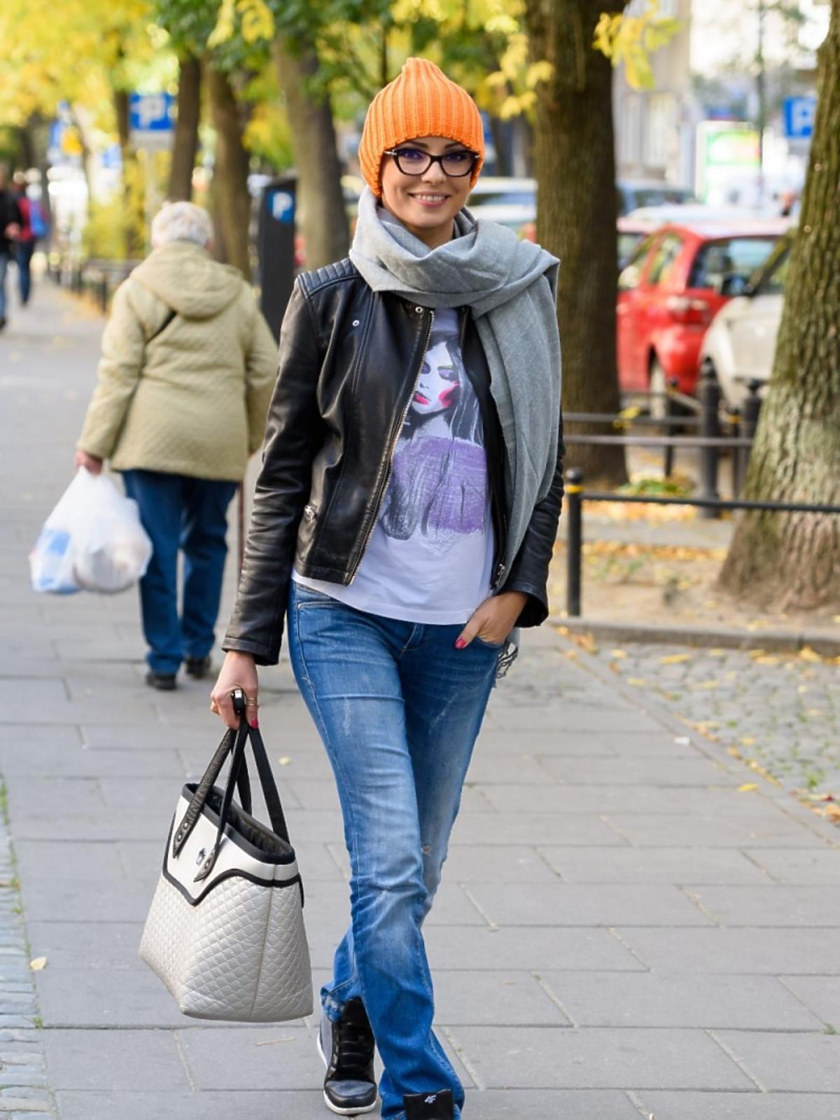 Jesienny styl Doroty Gardias