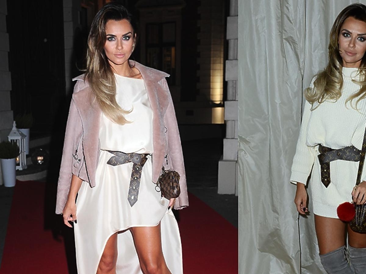 Natali Siwiec  z paskiem i torbą Louis Vuitton