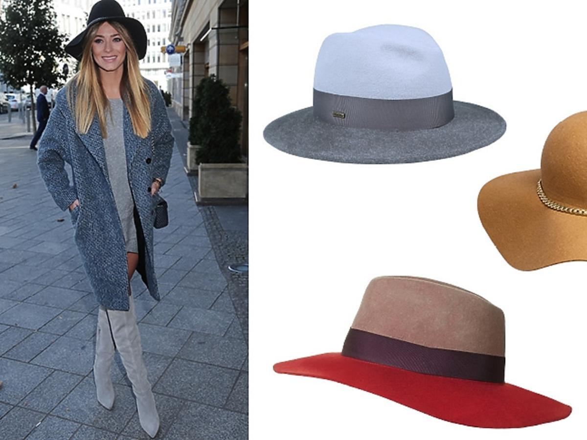 Marcelina Zawadzka na prezentacji marki Solar, kolorowe kapelusze