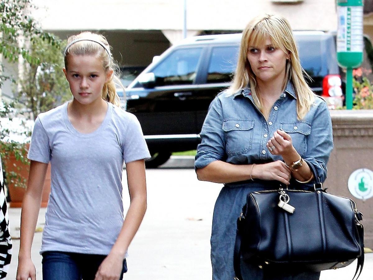 Reese Witherspoon z córką Avą Elizabeth Phillippes na zakupach