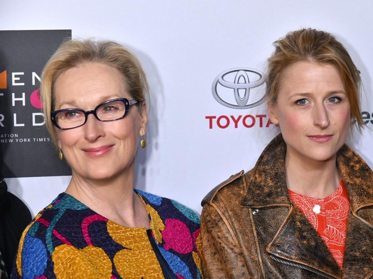 Meryl Streep z córką Mamie Gummer na konferencji Women in the World