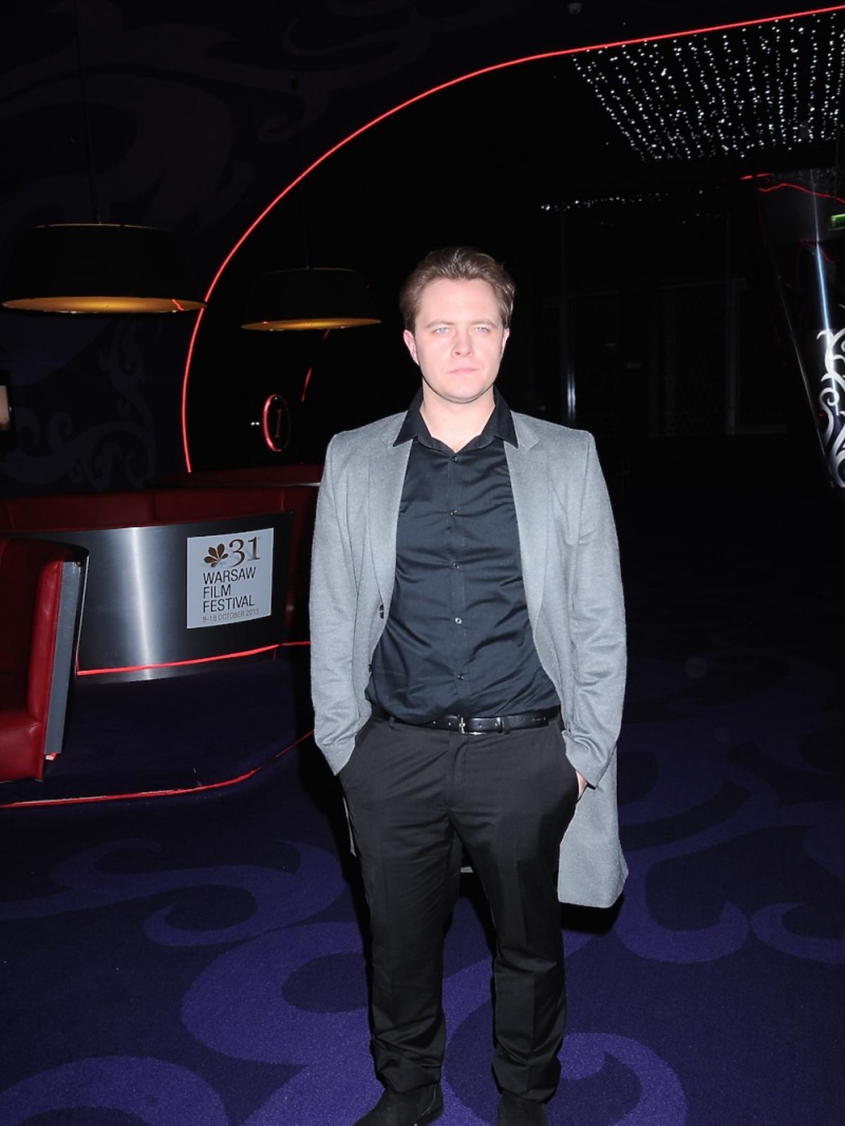 Tomasz Schuchardt na premierze filmu