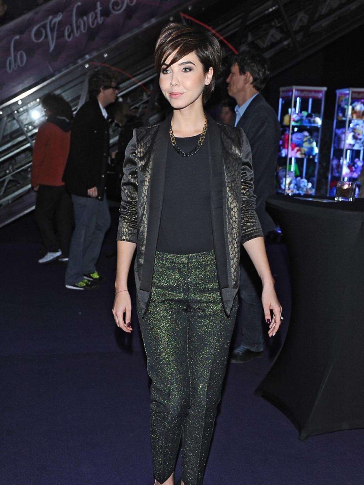 Paulina Drażba na premierze filmu