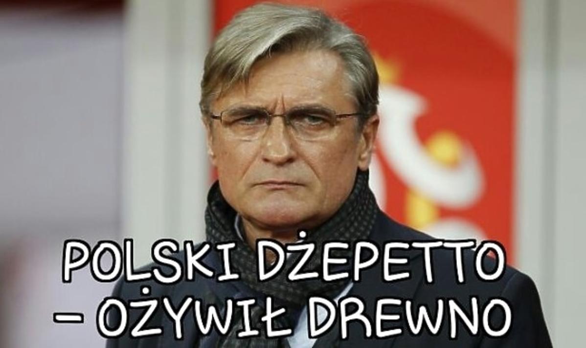 Nawałka mem z meczu Polska-Irlandia