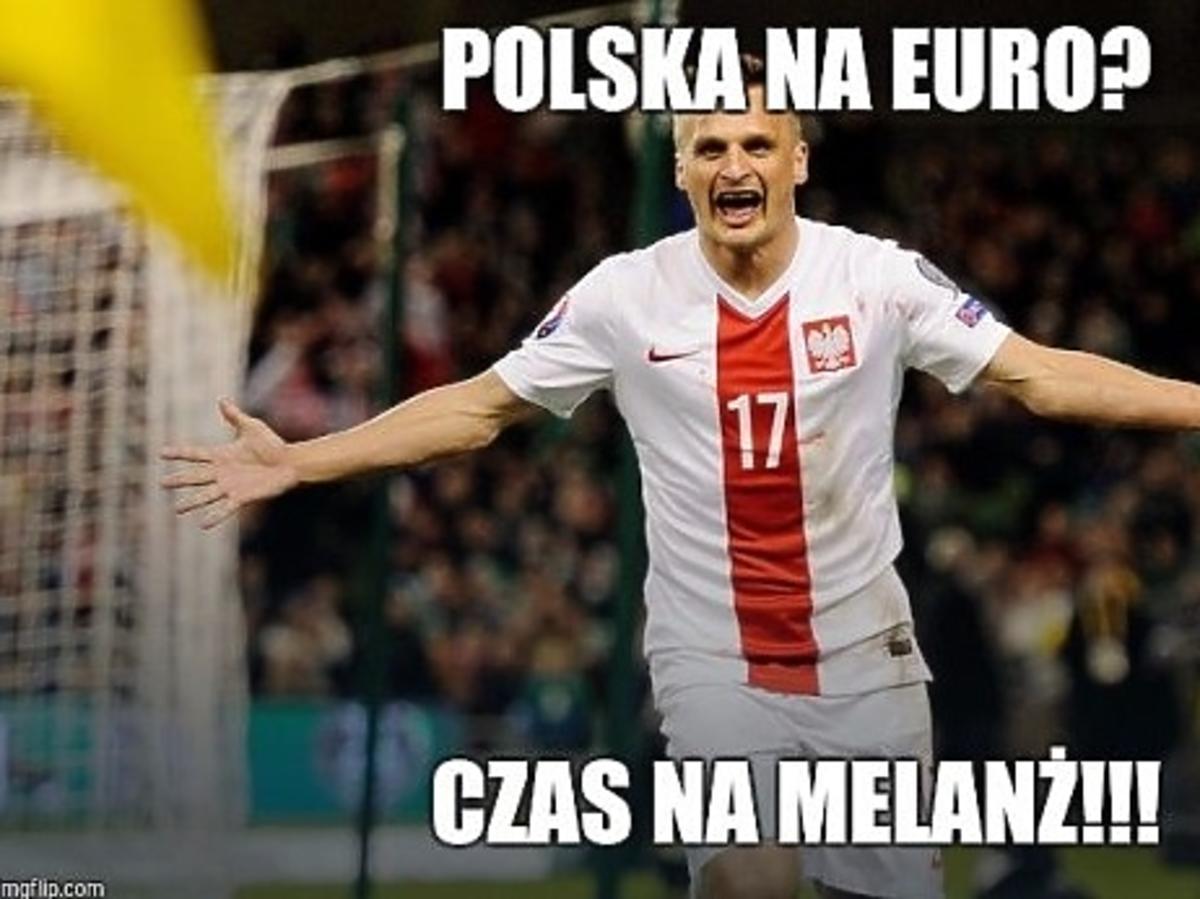 mecz Polska-Irlandia mem