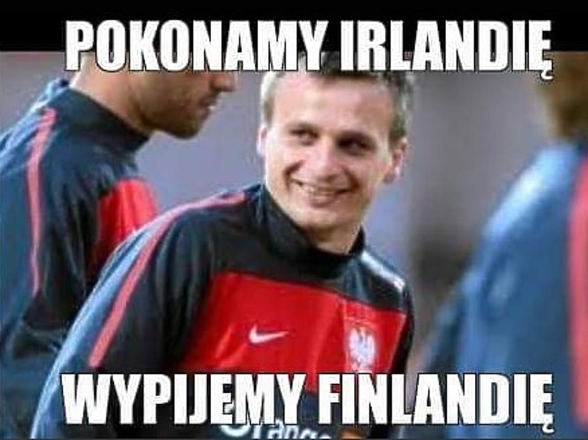 Sławomir Peszko, mem z meczu Polska-Irlandia