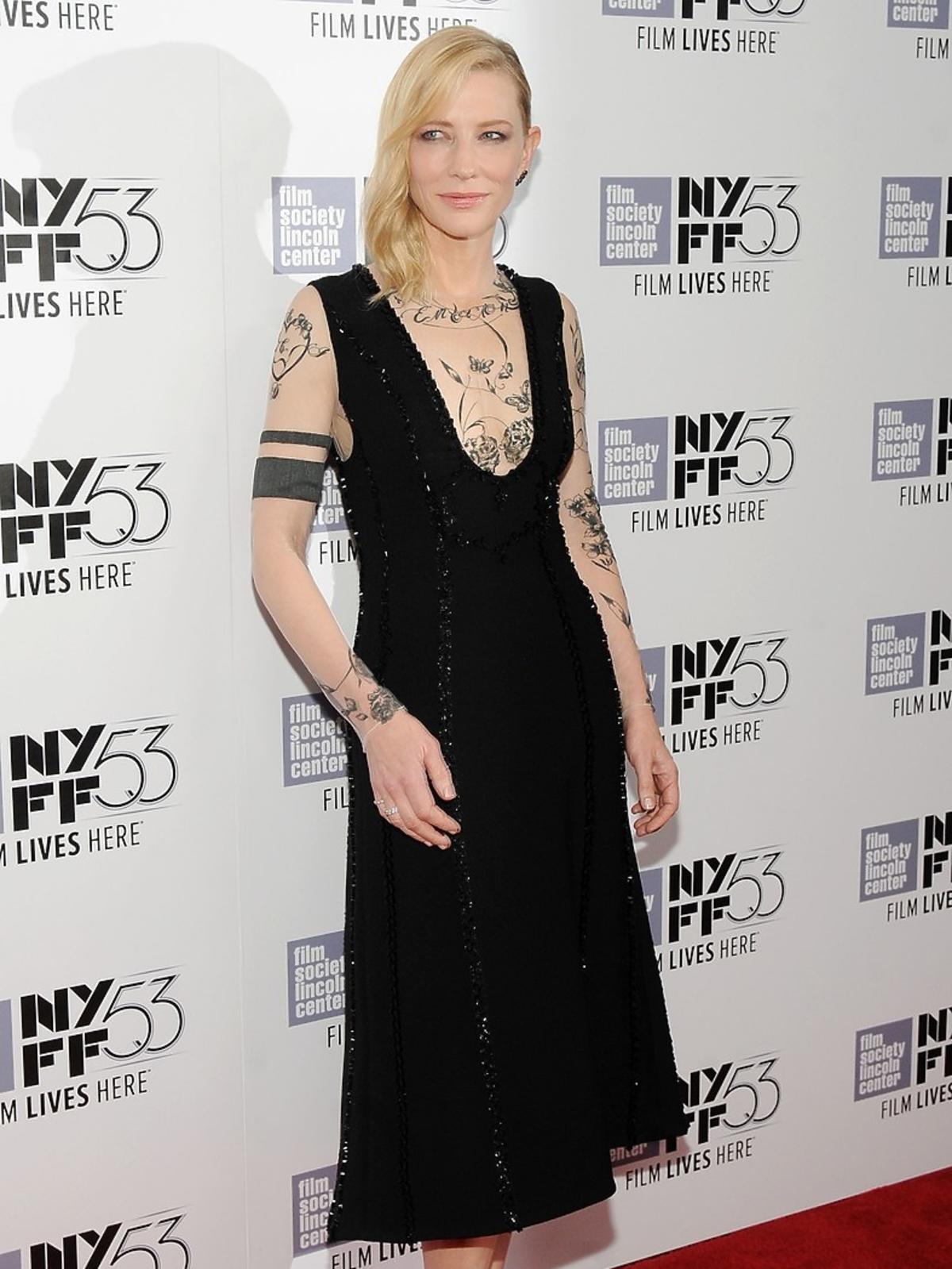 Cate Blanchett w czarnej sukni