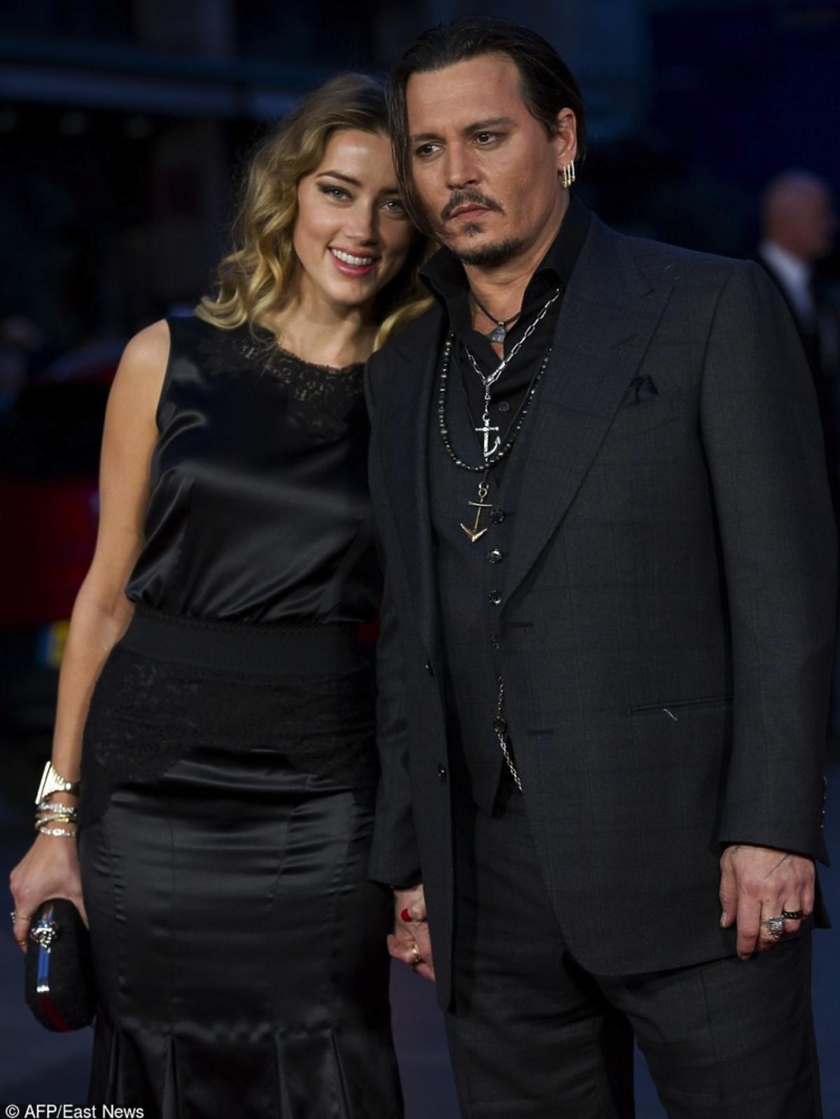 Eleganccy Johnny Depp i Amber Heard