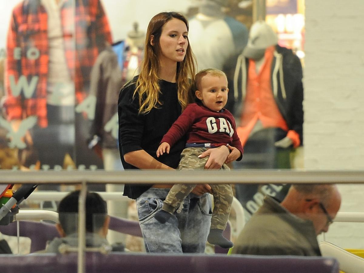 Natalia Gulkowska z Top Model z synem na zakupach