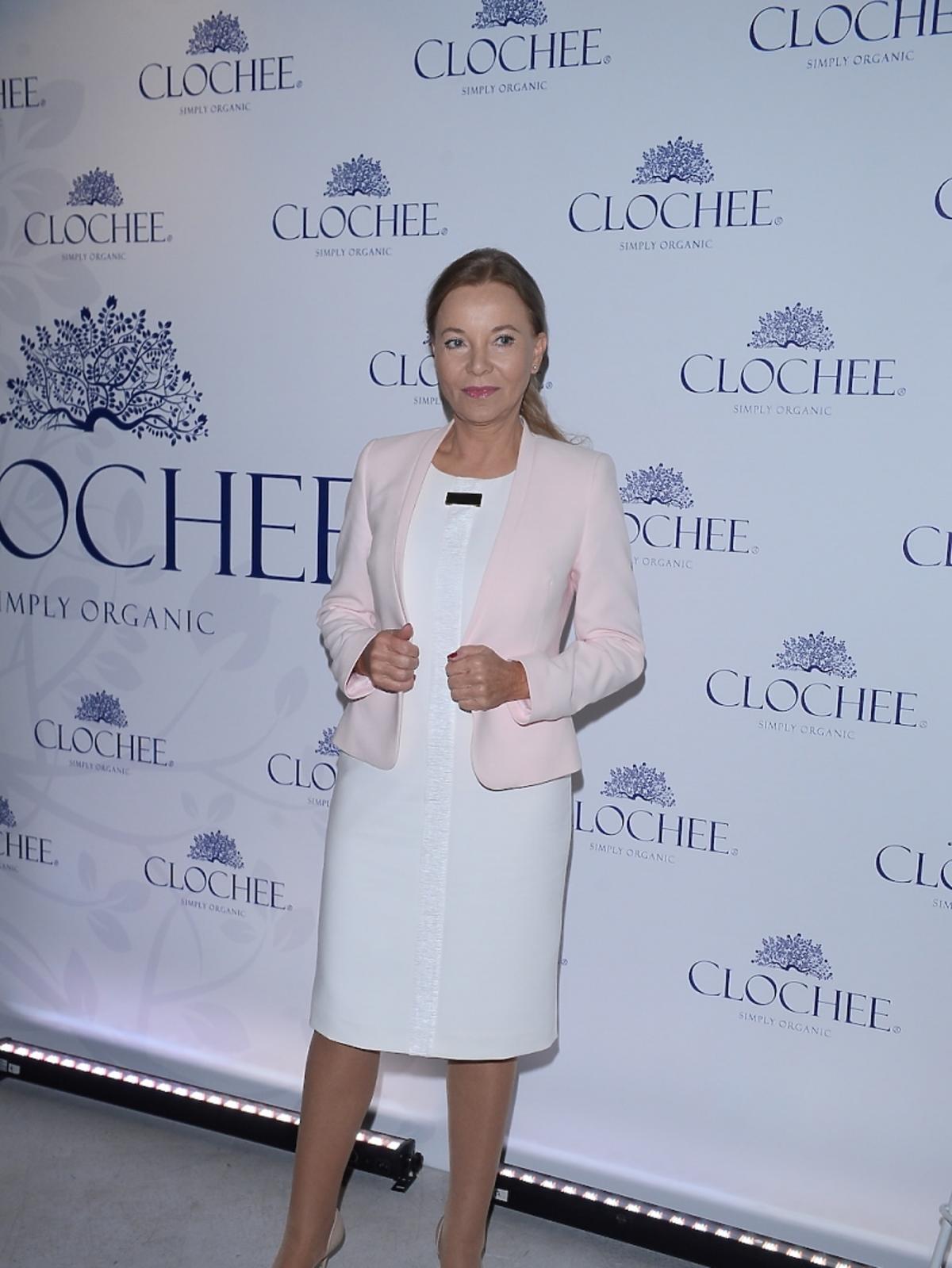 Laura Łącz na prezentacji marki Chlochee