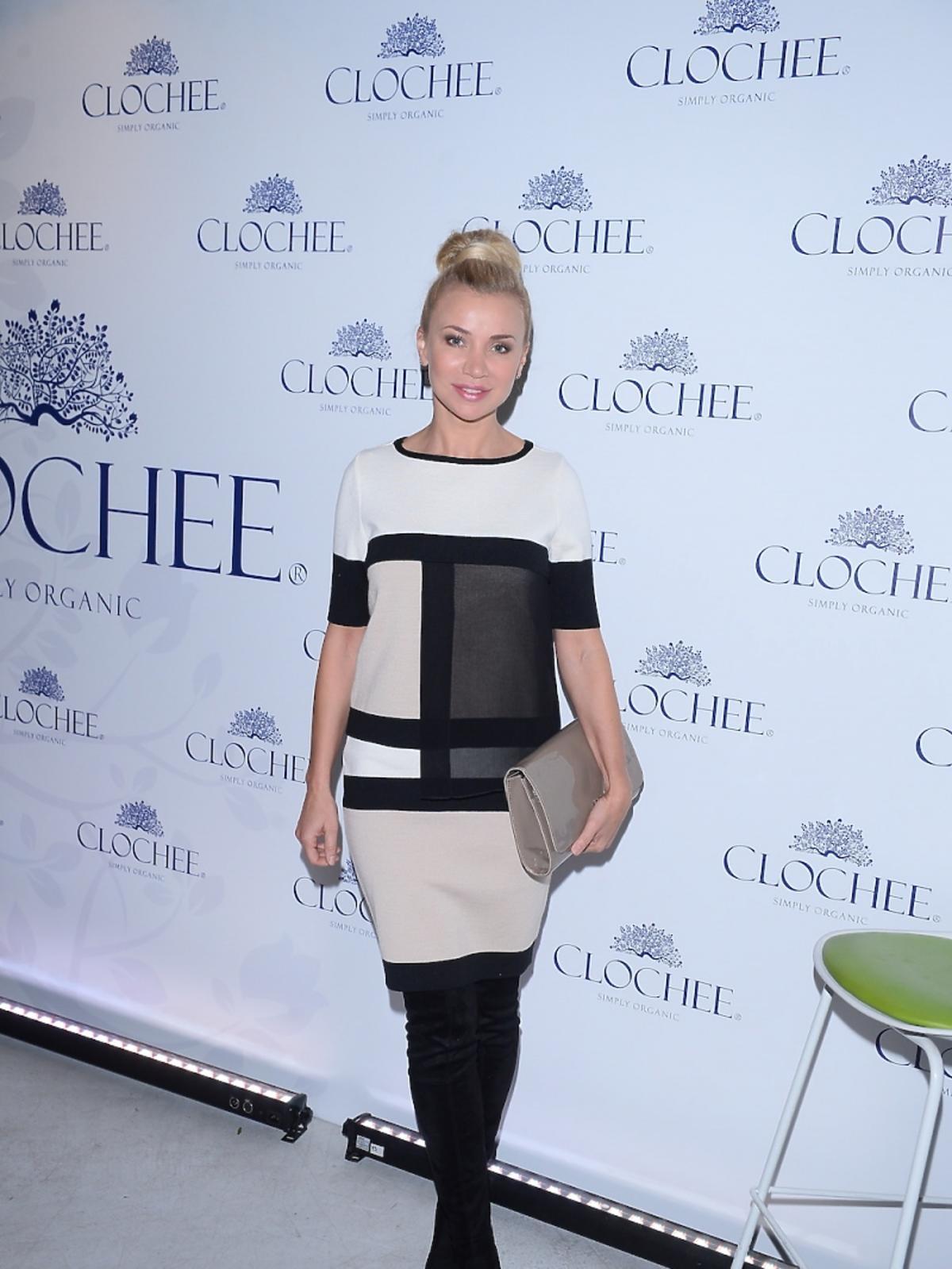 Lidia Kopania na prezentacji marki Chlochee