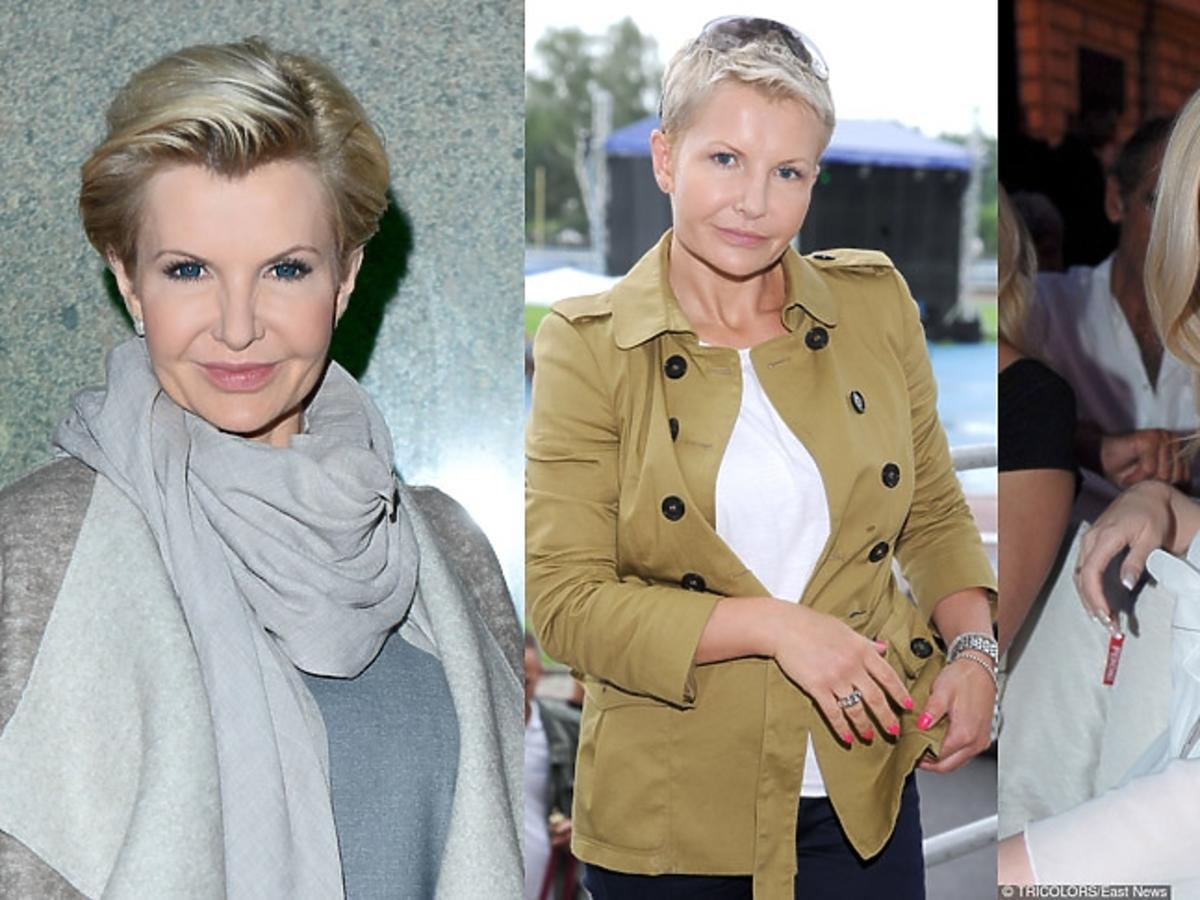 Joanna Racewicz trzy  portrety, jak się zmieniała w ostatnich latach