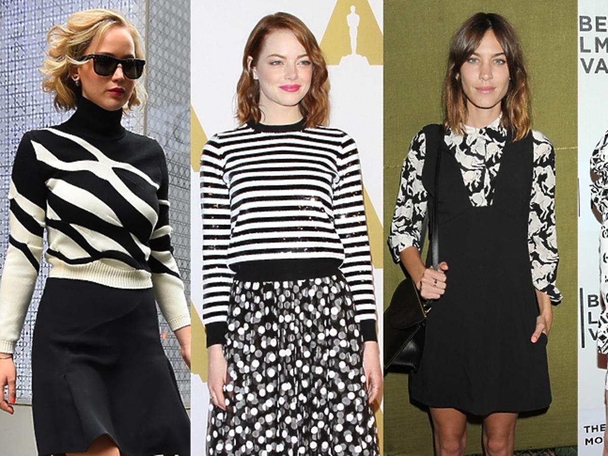Trend: czarno-białe wzory