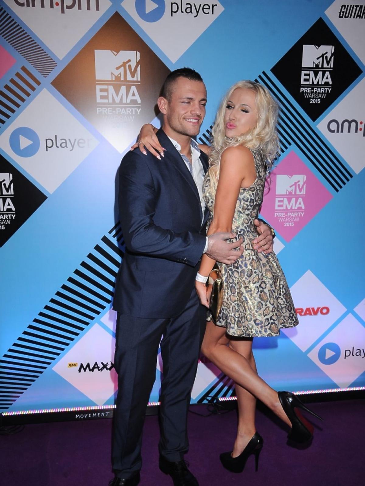 Eliza i Trybson na MTV EMA Pre Party 2015