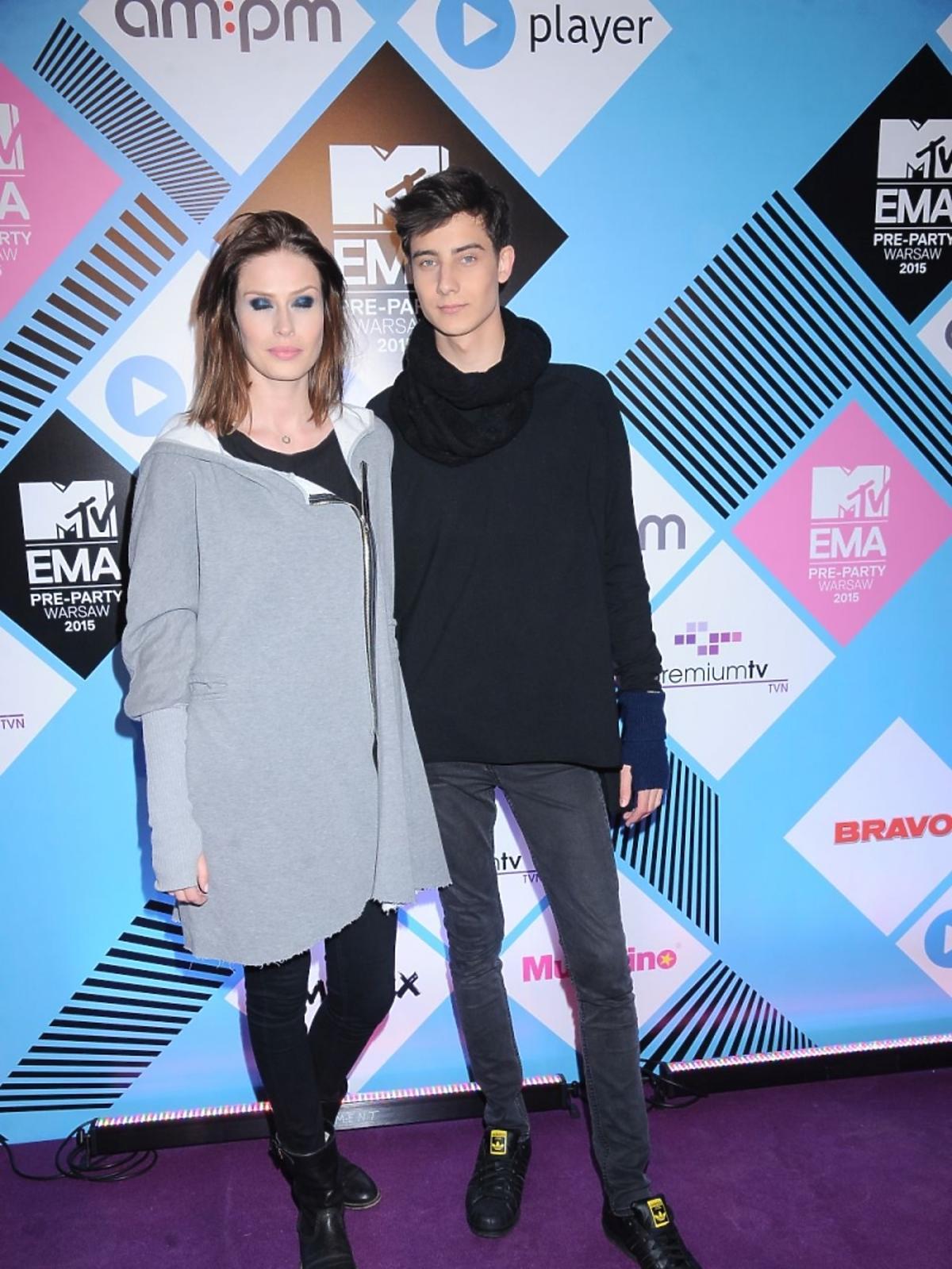 Adam Boguta na MTV EMA Pre Party 2015