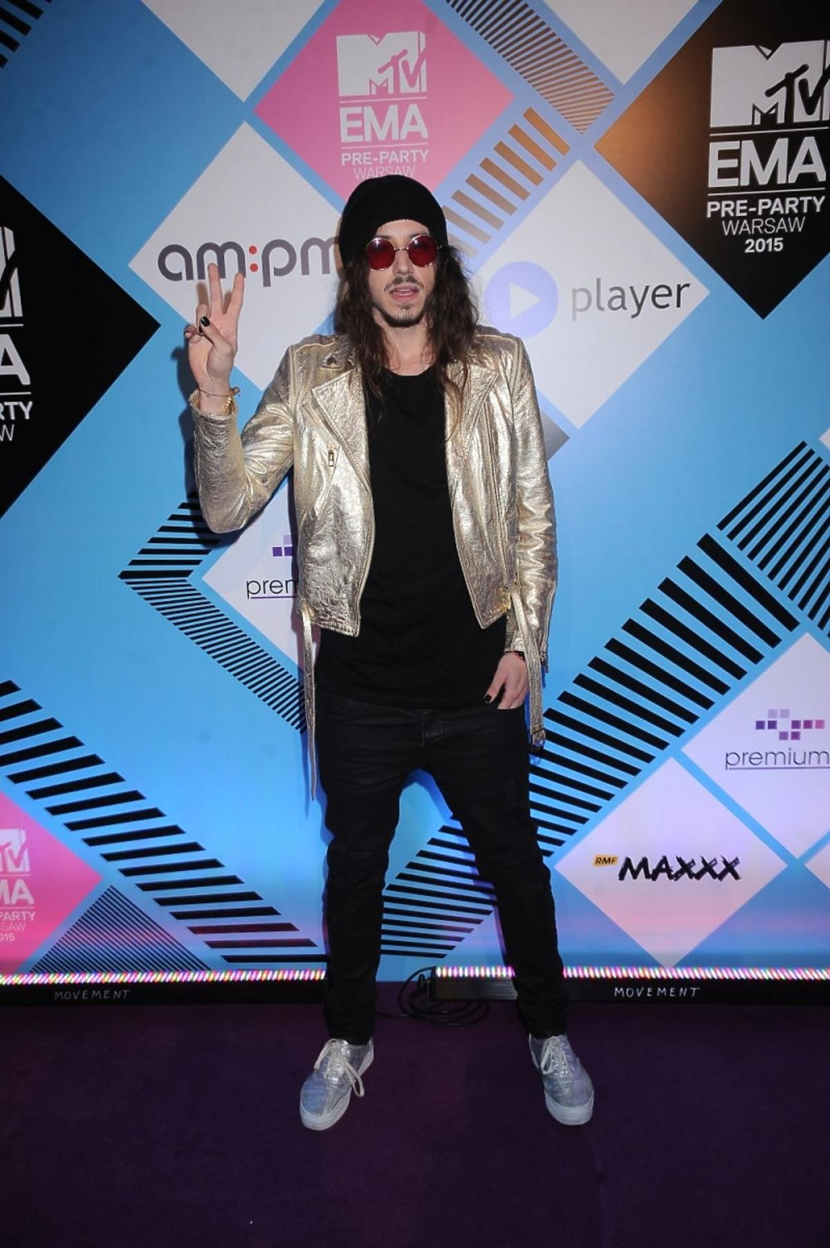 Michał Szpak na MTV EMA Pre Party 2015