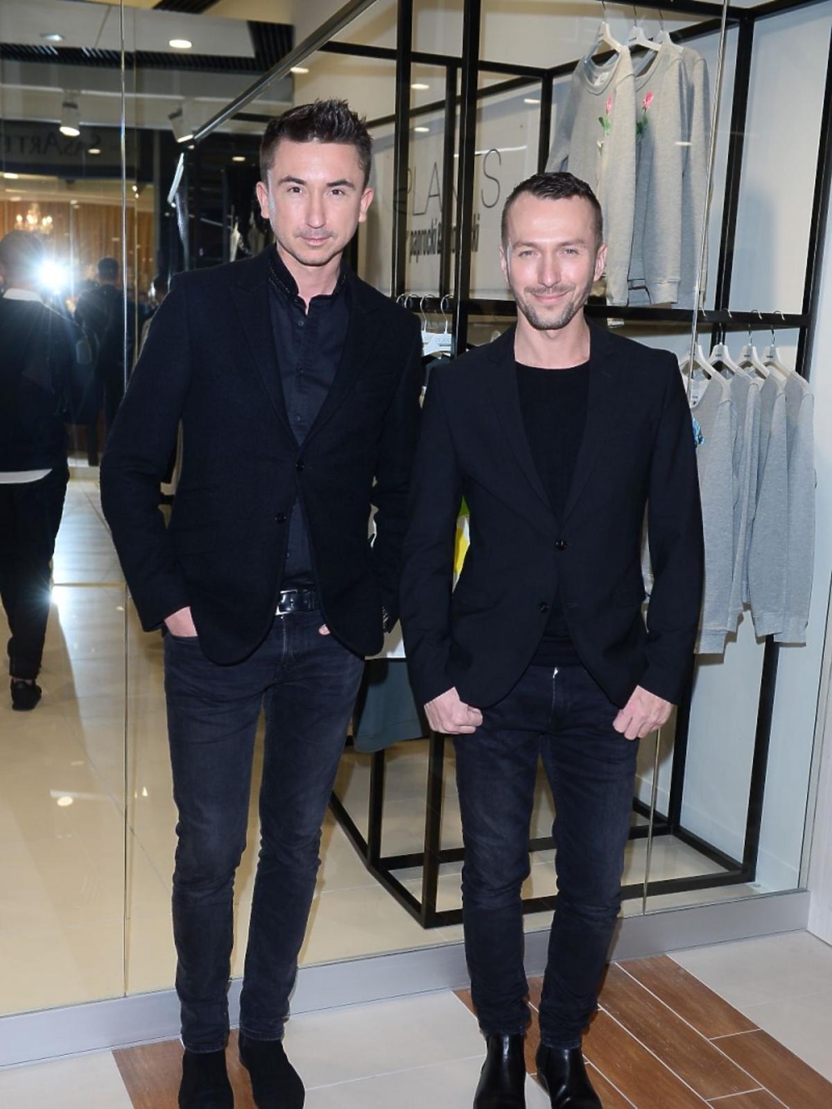 Duet Paprocki&Brzozowski na otwarciu centrum MODO Domy Mody