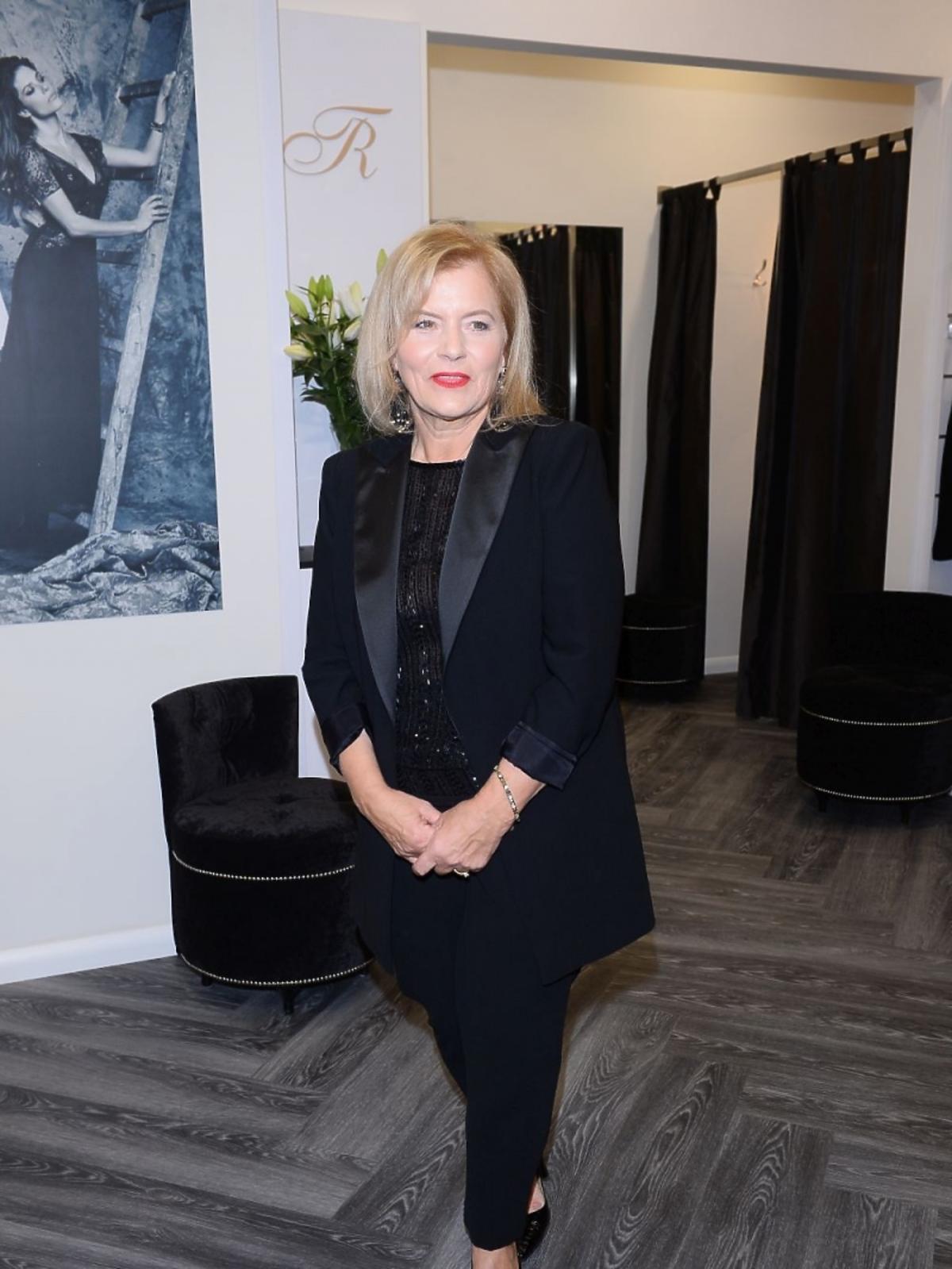 Teresa Rosati na otwarciu centrum MODO Domy Mody