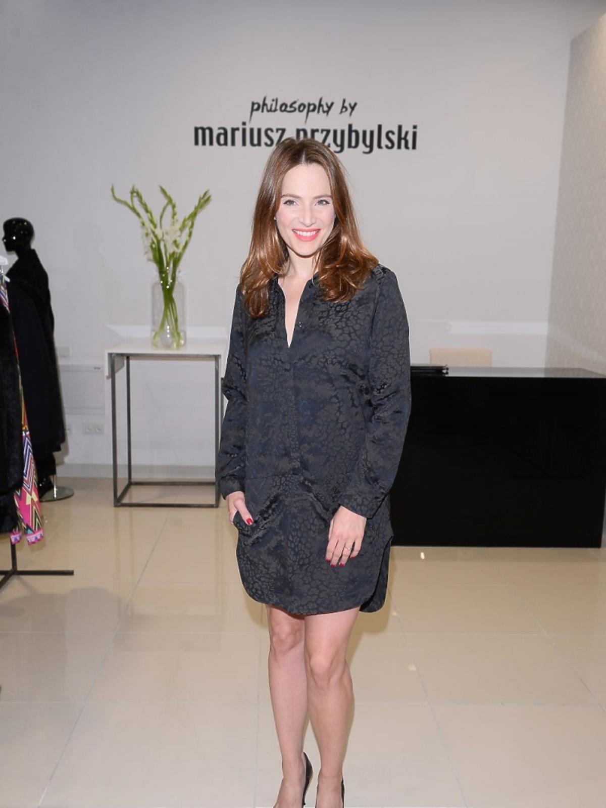 Anna Dereszowska na otwarciu centrum MODO Domy Mody