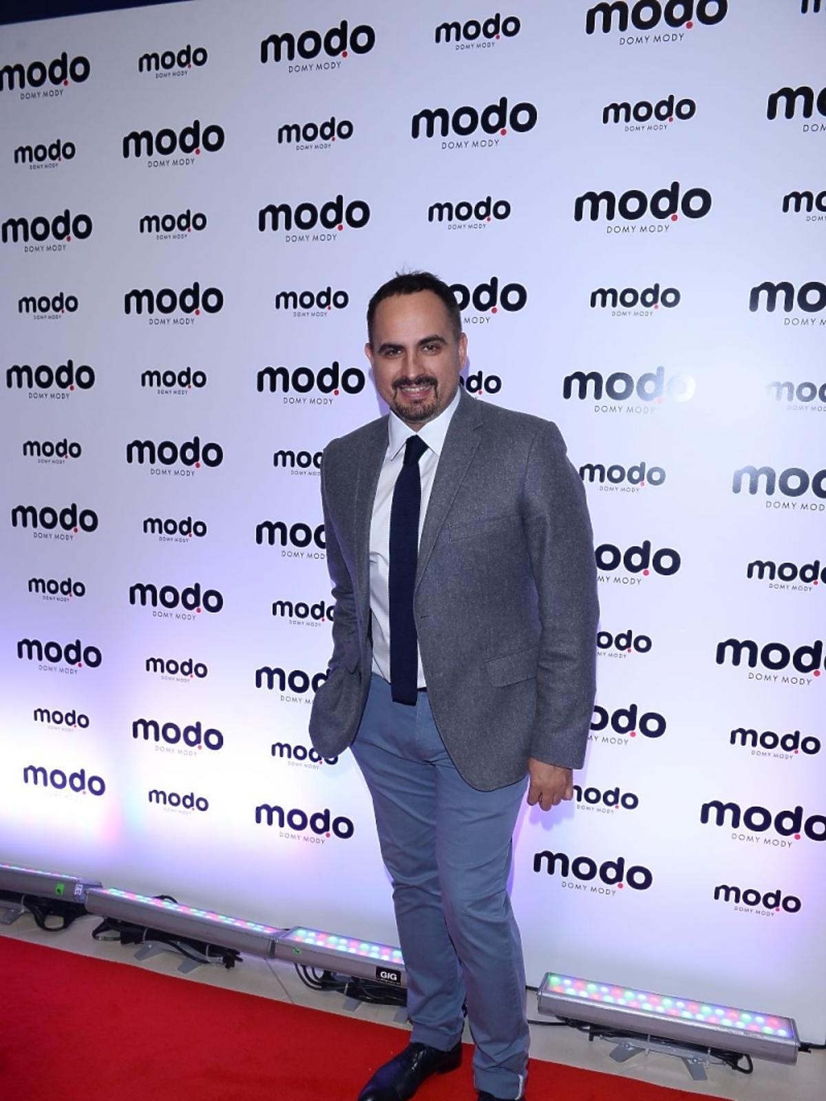 Agustin Egurolla na otwarciu centrum MODO Domy Mody