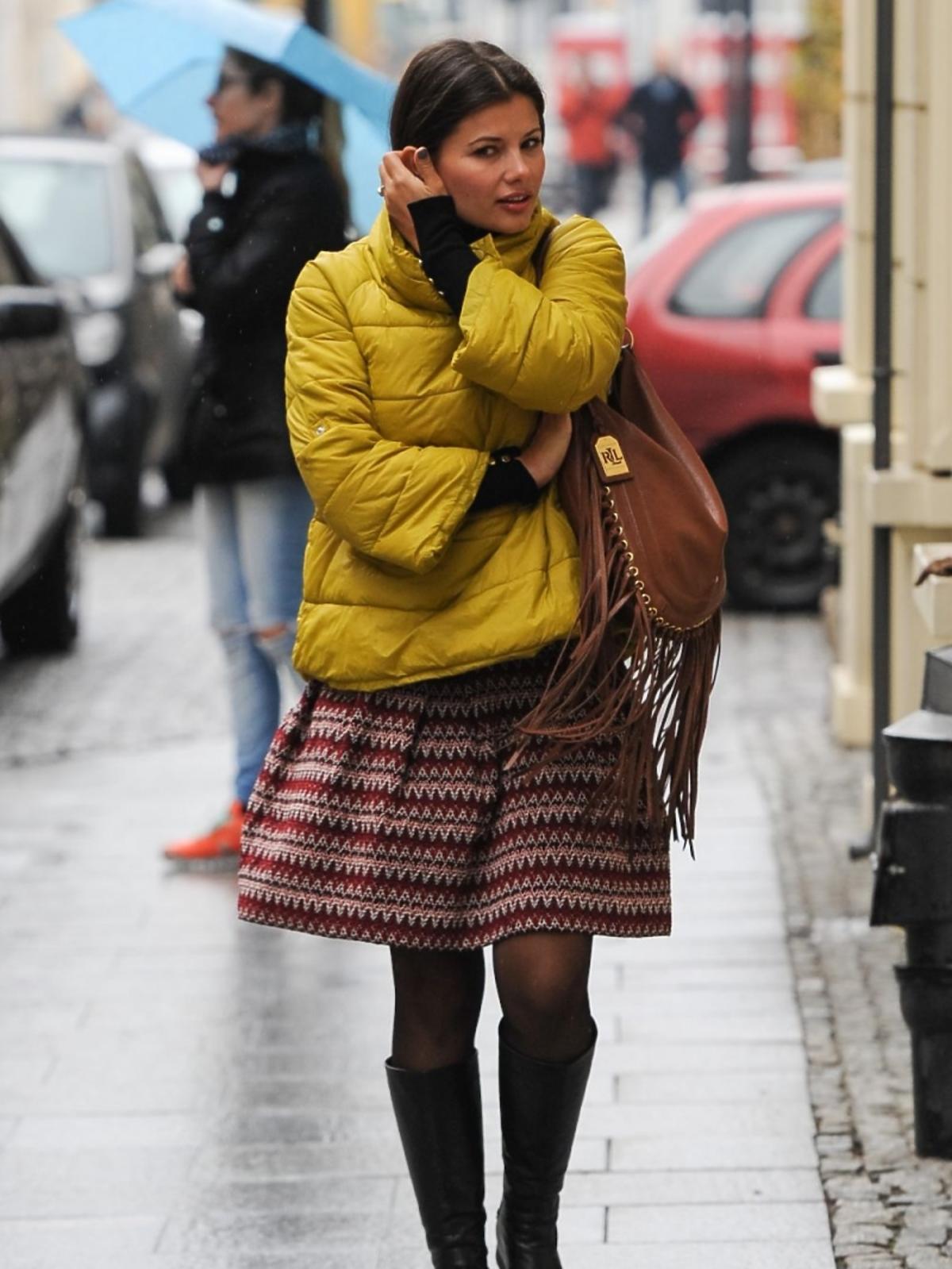 Agnieszka Sienkiewicz na ulicy
