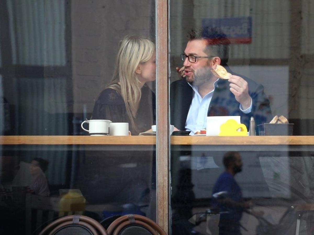 Magdalena Ogórek i Bartosz Węglarczyk na randce
