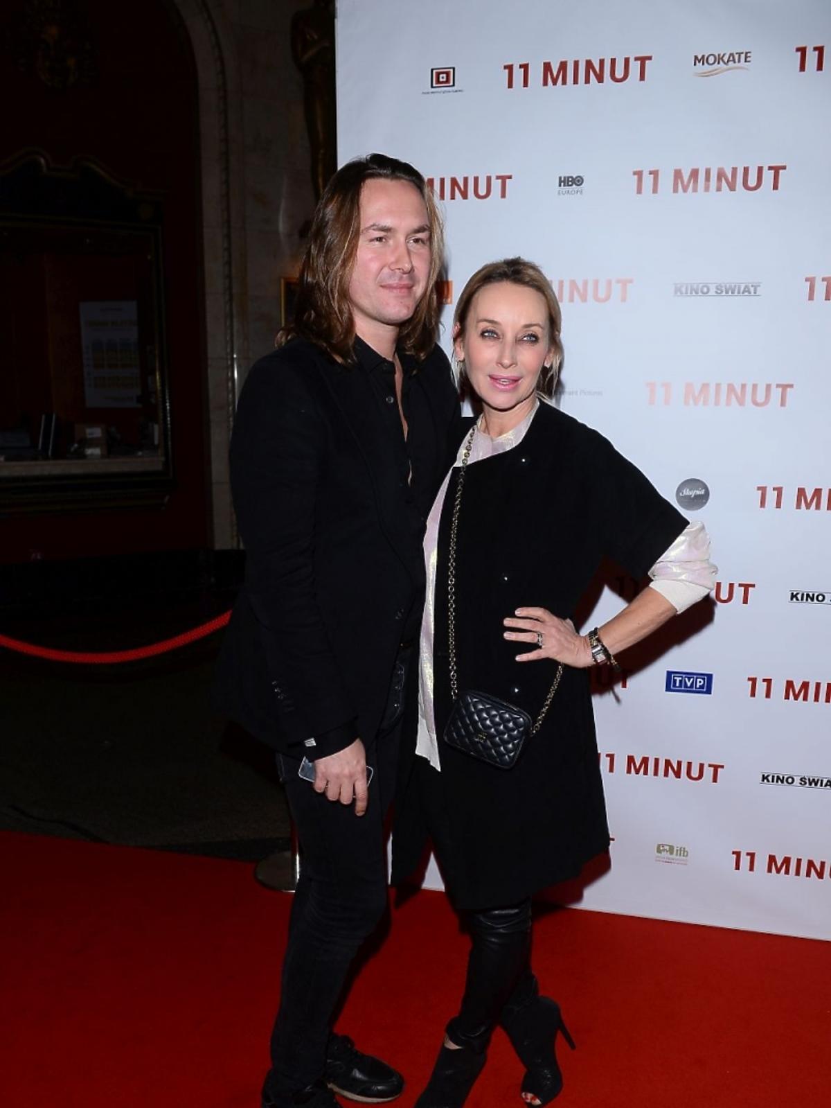 Dorota Williams i Tomasz Ossoliński na premierze filmu