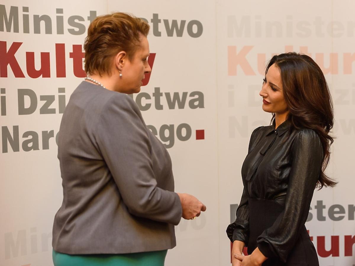 Justyna Steczkowska odebrała medal Gloria Artis
