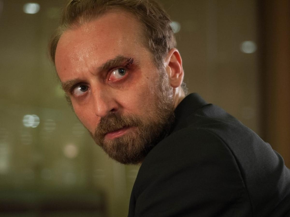 Wojciech Mecwaldowski patrzy przed siebie, 11 minut reżyseria Jerzy Skolimowski