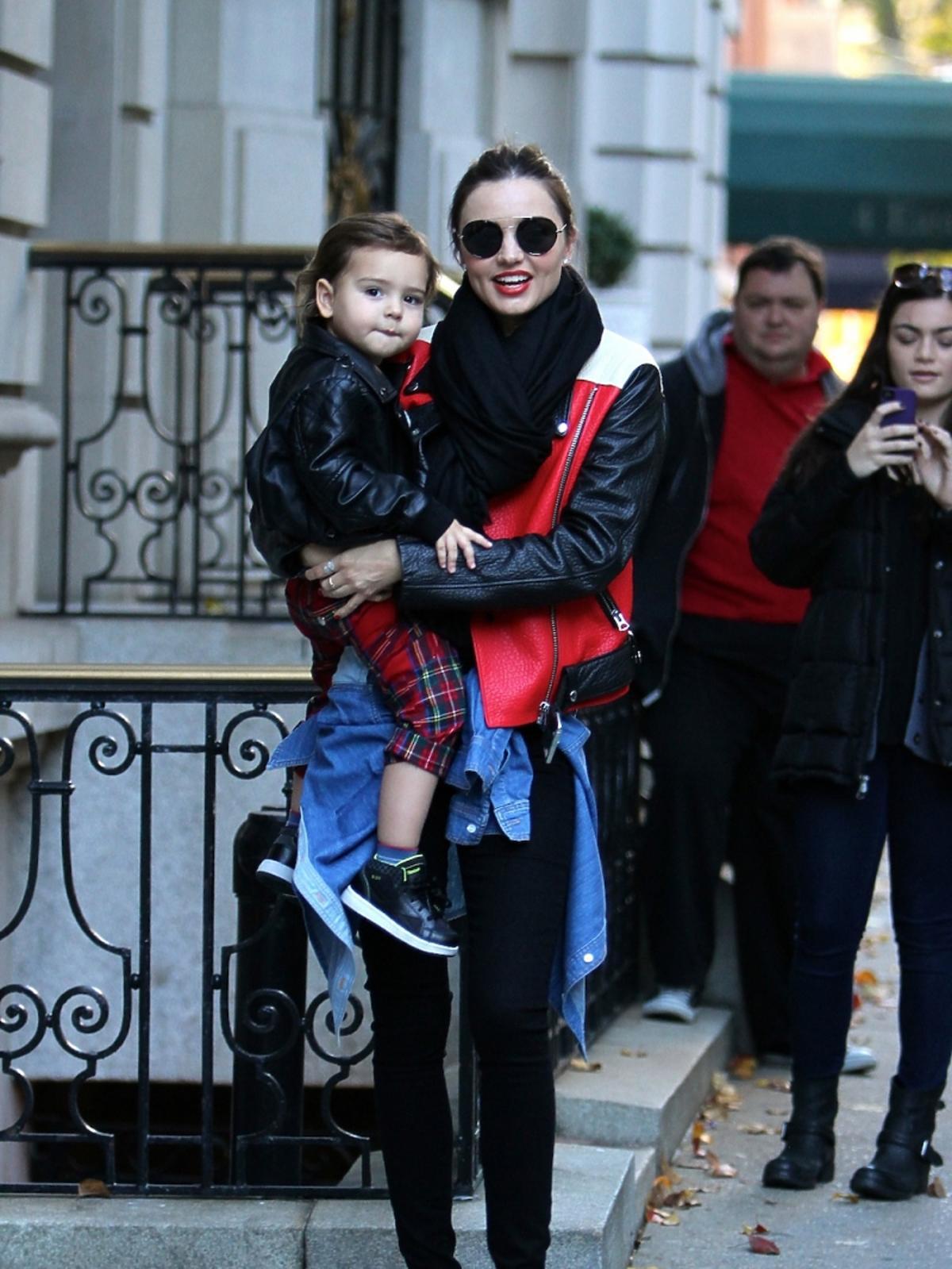 Miranda Kerr z dzieckiem