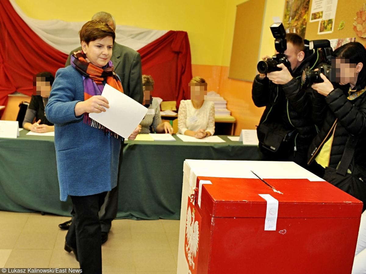 Beata Szydło w okręgu wyborczym