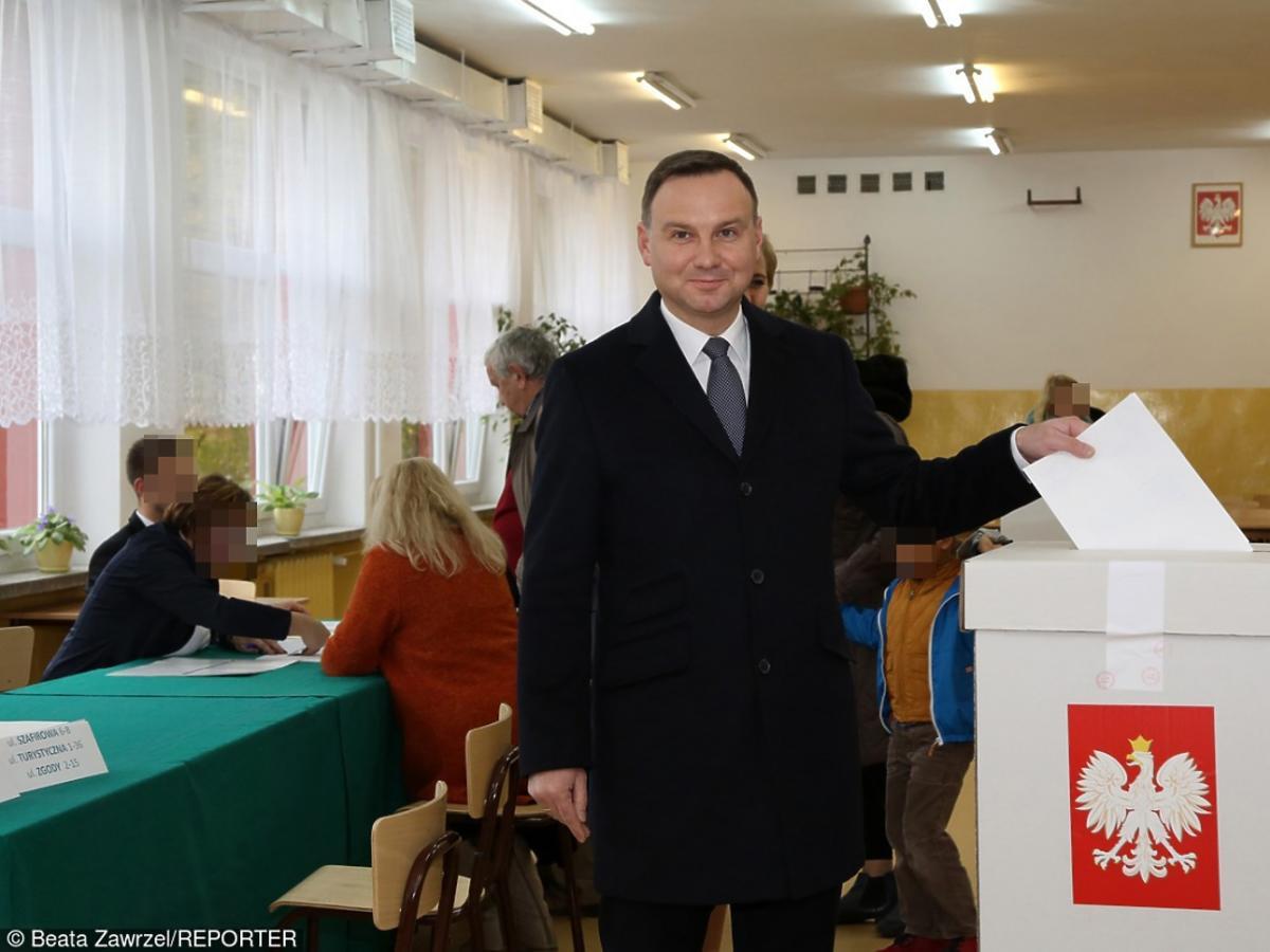 Andrzej Duda w krawacie