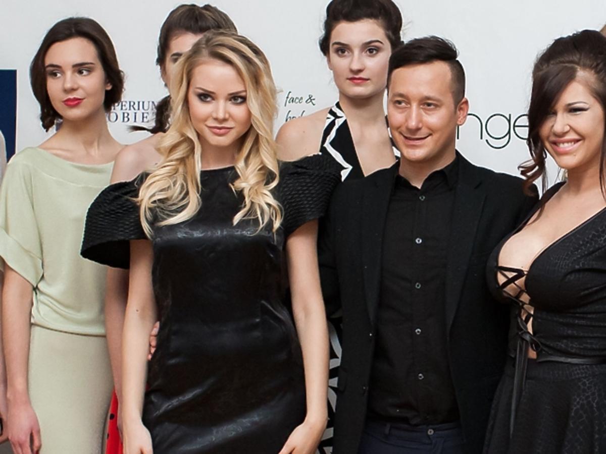 Iwona Węgrowska i Ola Ciupa w czarnych sukienkach