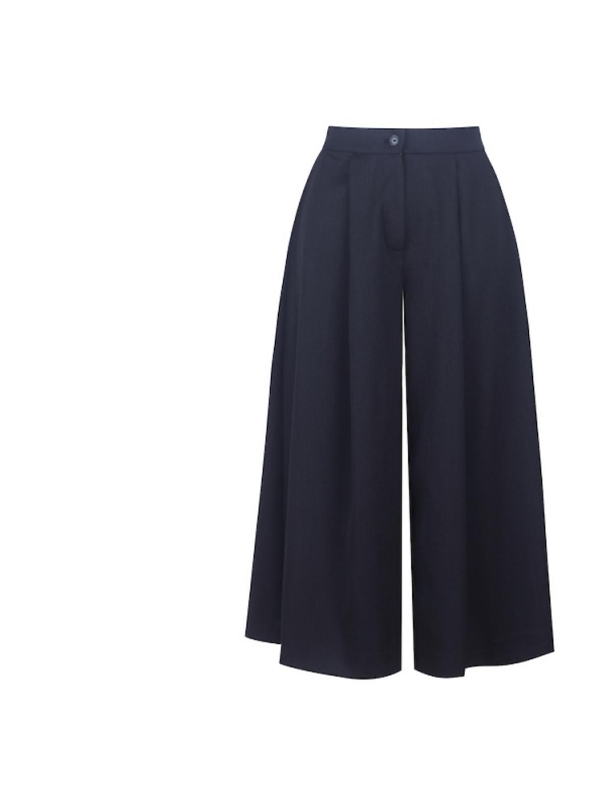 czarne spódnicospodnie