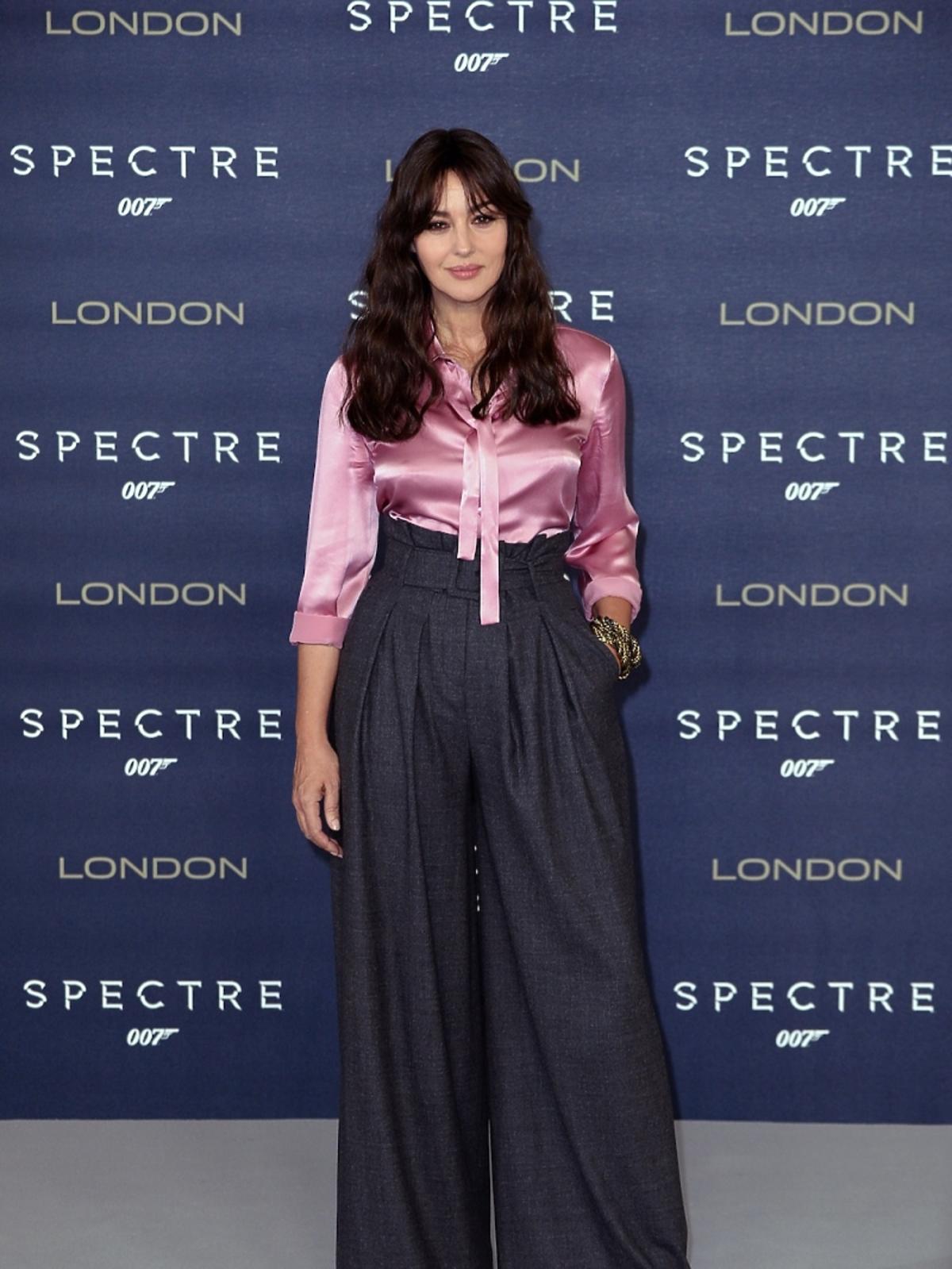 Monica Bellucci na premierze Spectre w Londynie
