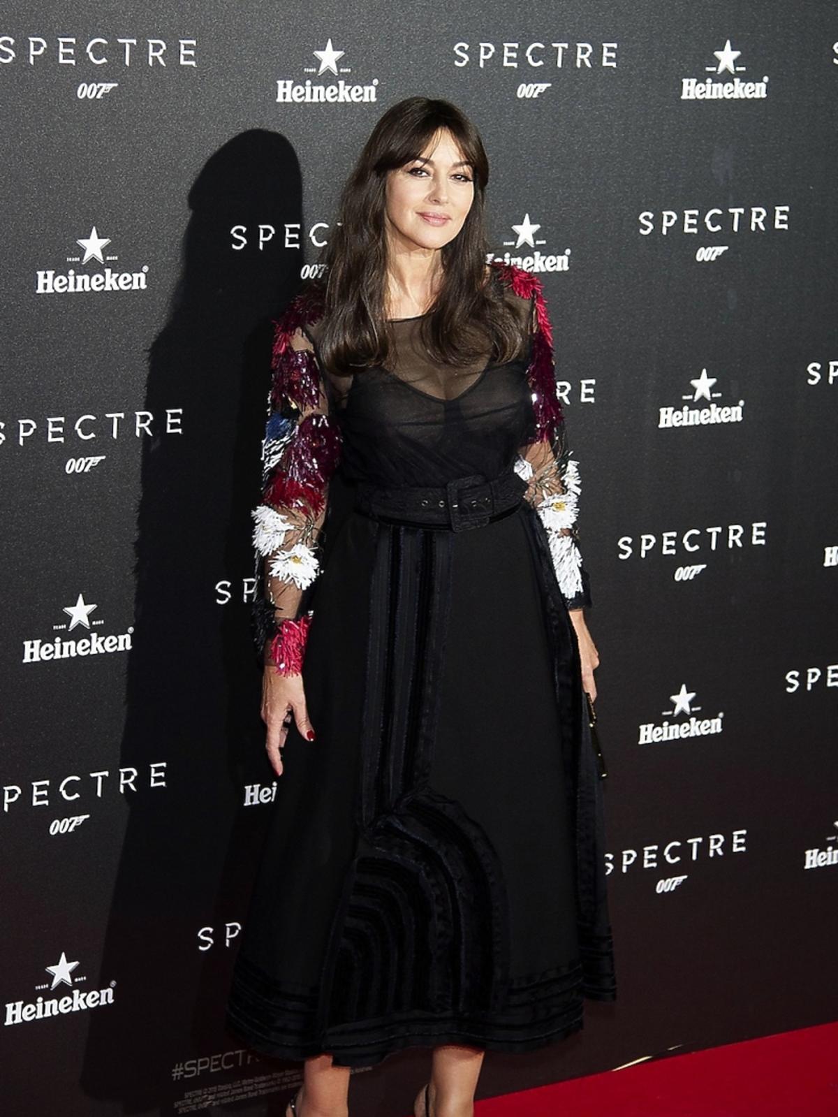 Monica Bellucci na premierze Spectre
