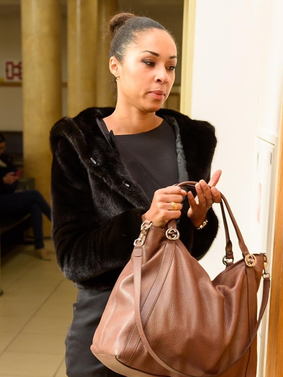 Omenaa Mensah pojawiła się w sądzie w roli świadka