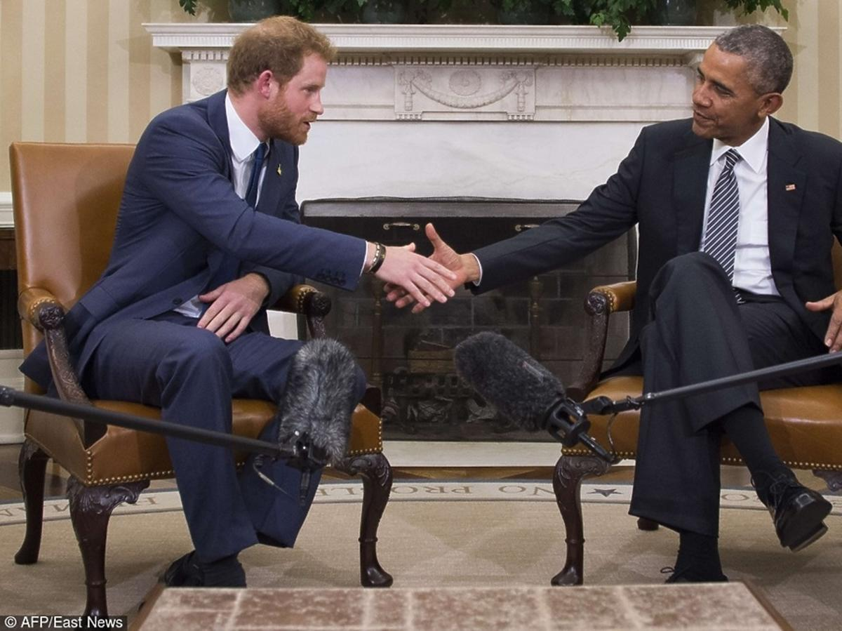 książę Harry i Barack Obama