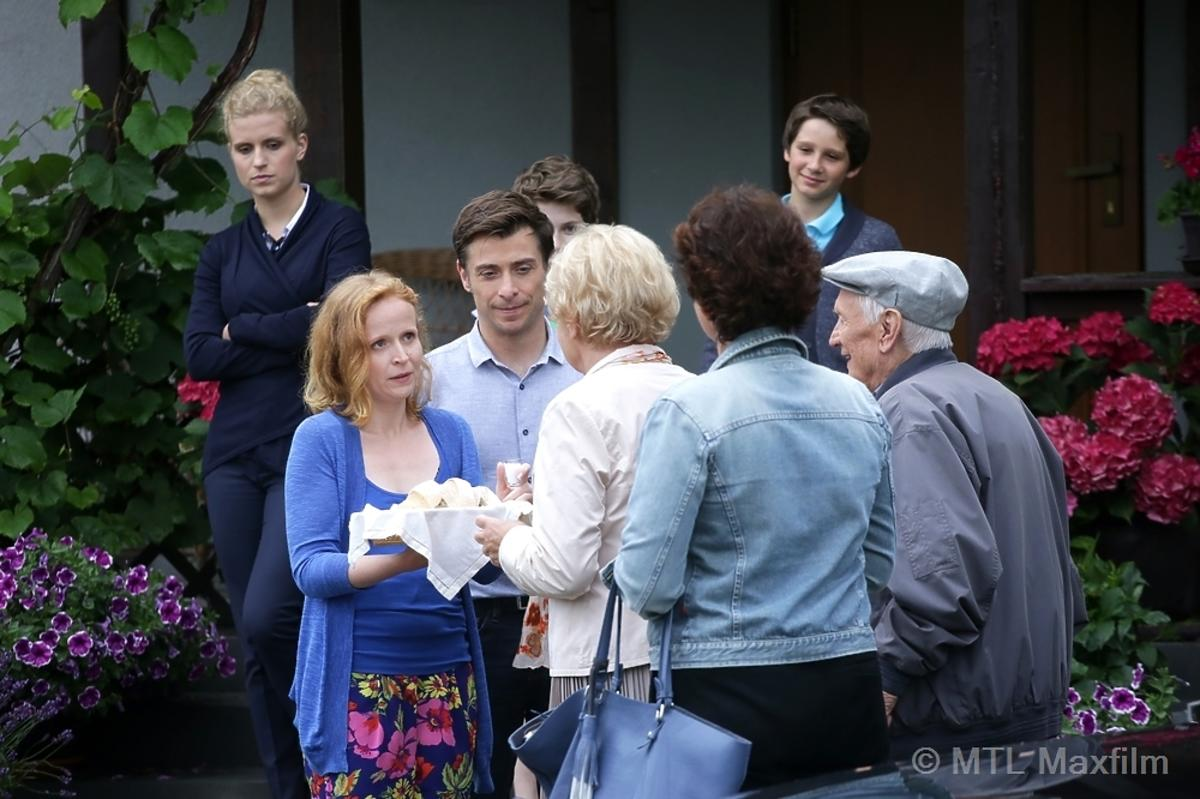 Barbara i Lucjan Mostowiak cieszą się, że wracają do odnowionego domu w M jak Miłość