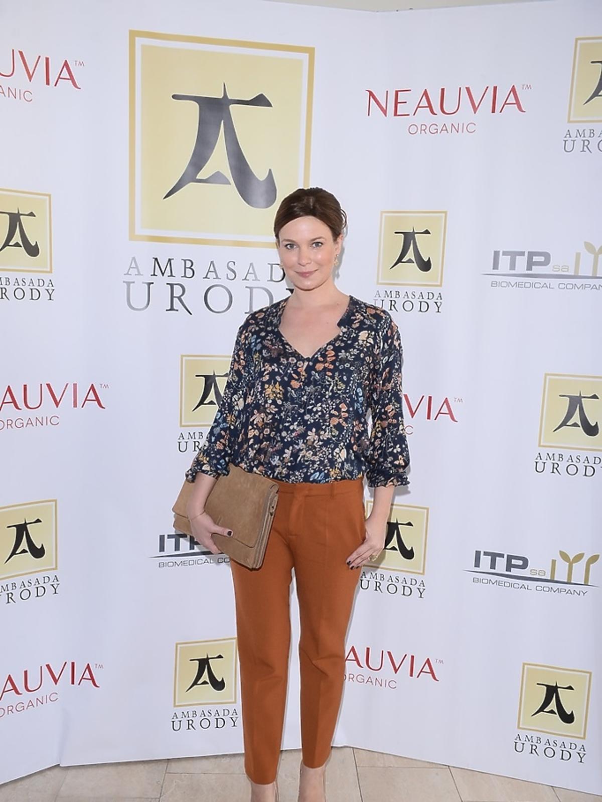 Anna Teodorczuk-Perchuć na ściance
