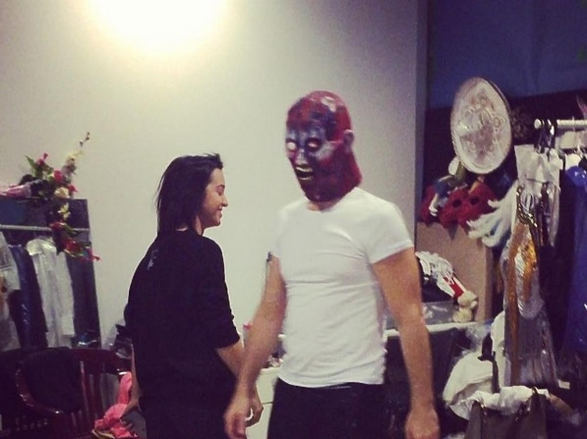 Jan Kliment przygotowuje się do odcinka Taniec z Gwiazdami Halloween