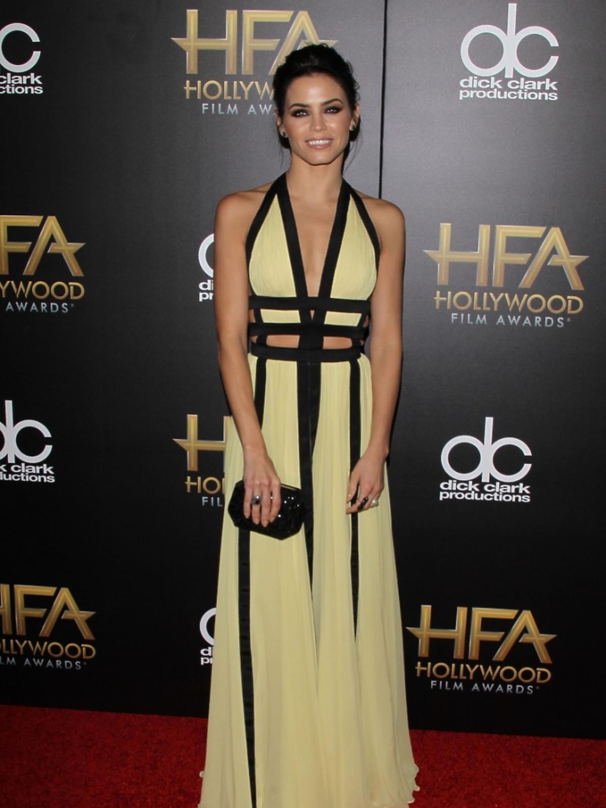 Jenna Dewan Tatum w żółtej sukni