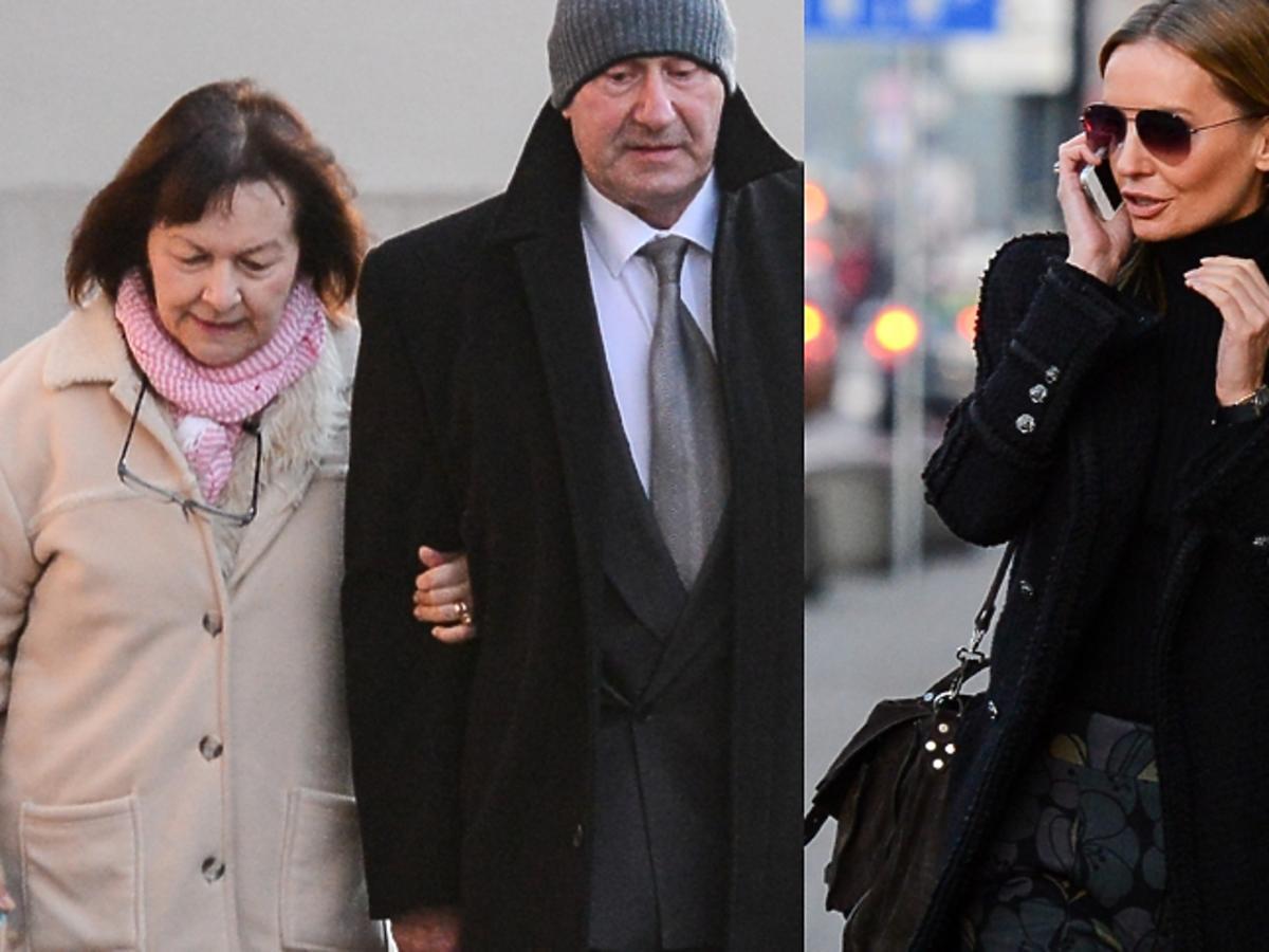 Agnieszka Szulim i rodzice Dody na rozprawie sądowej